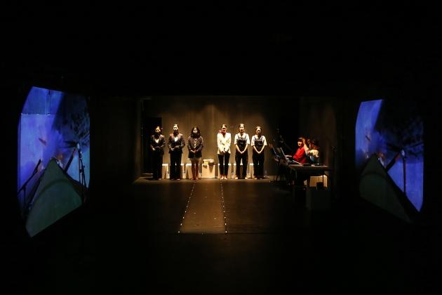 2 Badener Lehrstück vom Einverständnis © Ensemble Theaterraum, photo by Yoon-jeong Choi
