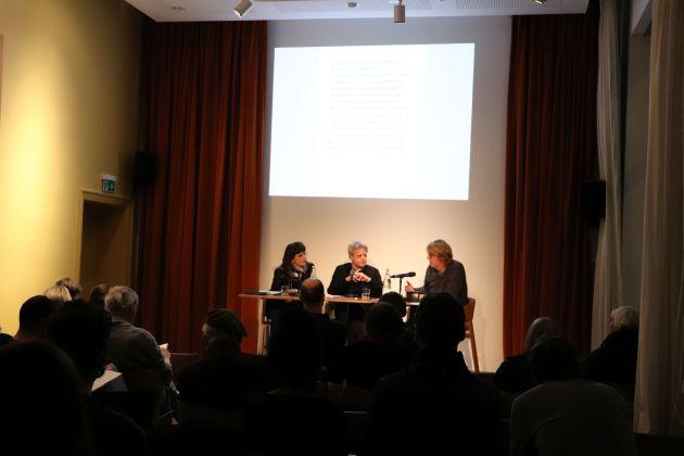 Brechttage 2020 Erster Abend Margarita Tsomou Matthias Warstat Christian Rakow IMG_0245